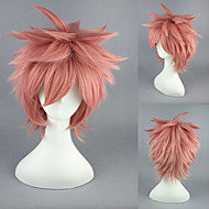 13inch FAIRY TAIL-Natsu Dragneel Pink Anime Cosplay Wig