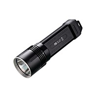 NITECORE P36 HAIII Tactical CREE MT-G2 LED Flashlight Torch(2X18650/4XCR123, 2000 Lumens, Black)