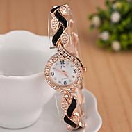 Z.xuan Women's  Steel Band Imitation Diamond Analog Quartz Casual Watch Cool Watches Unique Watches Fashion Wrist Watch