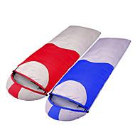 Ветронепроницаемый/Сохраняет тепло/Холодная погода - Утиный пух - Спальный мешок ( красный/синий