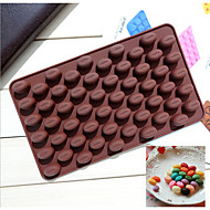 Fashion Silicone Chocolate Mold  Beans Shape Ice Jelly Candy Kitchen Cooking Cake Decorating Bakeware Cake Tools