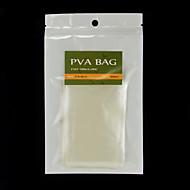 200PCS 7CM X 10CM Easy Open Carp Fishing PVA Bags Water Dissolving 50pcs/bag X 4 bags