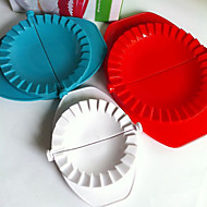 Set of 3 Plastic Dough Press Mold Dumpling Maker Kitchen Tool Gadget