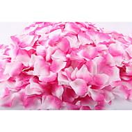 Set of 100 Double Color Color-Changing Petals Rose Petals Table Decoration (Assorted Color)