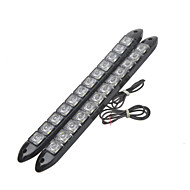 High Power Flexible 6000K White Light LED Car Daytime Running Light