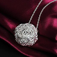 Women's Fashion Temperament Statement 925 Silver Necklace-P052