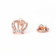 Man's Leisure/Party/Alloy/Suitable For Four Seasons Suit Small Crown Brooches
