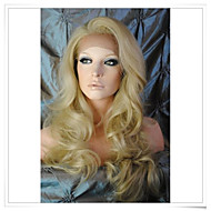 "Cinderella Blonde 8""-22"" 100% Virgin Human Hair Wave Glueless Full Lace/ Lace Front Wigs Photo Color #24/613 Length 22"""