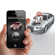 motor do carro sistema de segurança de bloqueio steelmate A881 smartphones para iphone e android telefone