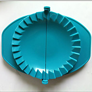 conjunto de 3 massa de imprensa fabricante de bolinho de massa molde dispositivo ferramenta de cozinha de plástico