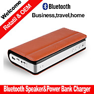 Besteye® Business Portable Stereo Bluetooth Speaker W/Power Bank Play Mode Bluetooth Micro SD Aux PC Speaker