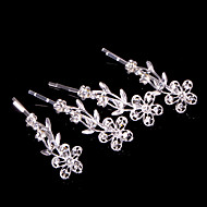 Alloy Hairpins With Rhinestone Wedding/Party Headpiece