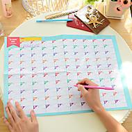 100 jours calendrier calendrier compte à rebours belle étude de travaux pratiques (couleur aléatoire)