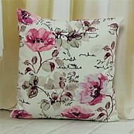 IKEA capa de almofada rosa 100% poliéster 45x45cm