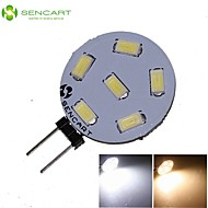 G4 GZ4 MR11 3W 6x5730/5630SMD LED 270LM 3500K 6000K  Warm White/Cool White LED Spot Lights Light Bulb  DC/AC 9-36V
