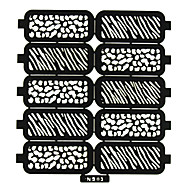 Desenho Animado/Abstracto/Adorável/Punk/Casamento - de PVC - para Dedo - 9x7.5x0.03 CM - 1