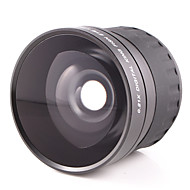 58mm 0.21X Times As Fisheye Lens Ultra Wide Angle Lens for Canon 700D 600D 650D Or 18-55MM Lens