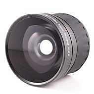 58 mm 0.21x krát rybí oko objektivu ultra širokoúhlým objektivem pro Canon 700D 600D 650D nebo 18-55mm objektivem