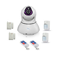 Snov HD WIFI IP Video Camera Alarm, support 64pcs Wireless Alarm sensors, Night Vision and Andriod & IOS APP SV-VPC2EK4