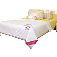 Children Summer Blanket Silk Blanket White Cotton Twin Quilt