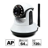 Besteye® HD720P H.264 P2P WIFI Camera IP 1.0M Pixels PTZ IR Night Vision Wired/Wirless 64GB TF Card