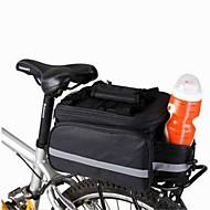 Saco da bicicleta 8LBolsa de Ombro / Mala para Bagageiro de Bicicleta/Alforje para Bicicleta Compacto / Multifuncional Saco de bicicleta