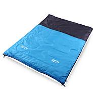 Sleeping Bag (Biru) - Kapas Pintal/Poliester - Kebolehresapan Lembapan/Kebolehnafasan/BIARKAN PANAS/SUAM/Mampatan/Cuaca sejuk/Besar