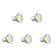 5 pcs Bestlighting GU10 5 W 1 X COB 450 LM K Warm White/Cool White/Natural White PAR Par Lights AC 85-265 V