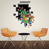 3d wall stickers Vægoverføringsbilleder, stil kører pvc wall stickers