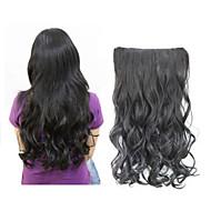 fashion jeden kus dlouhý lokny / kudrnaté / vlnité vlasy prodloužení