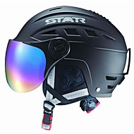 étoiles automne / abs d'hiver de ski / snowboard casque avec des lunettes de soleil