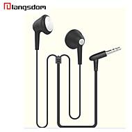 langsdom ls-15 3.5mm auricular plana earbuds in-ear para auriculares del teléfono móvil de la música