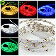 SENCART 5 M 300 3528 SMD Bianco caldo/Bianco/RGB/Rosso/Giallo/Blu/VerdeAccorciabile/Oscurabile/Collagabile/Adatto per