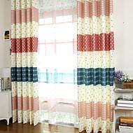 Wohnzimmer Kinder mediterranen Stil Mischelemente Druckverdunkelungsvorhang (zwei Tafeln)