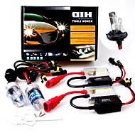 3200LM 12V 55W H4-2 9003 Hid Xenon High / Low Conversion Kit 12000K
