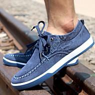 Herenschoenen Casual Denim Modieuze sneakers Blauw/Grijs