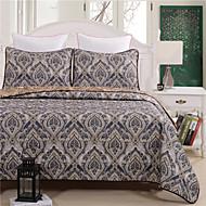 queen size paisley blomstret tæppe overførsel udskrives 100% polyester 1pc af quilt med 2stk af pudebetræk
