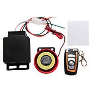 Motorbike Anti-theft Security Alarm System Remote Control Engine Start DC 12V