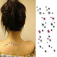 Tatuajes Adhesivos Otros Non Toxic Parte Lumbar WaterproofNiños Mujer Hombre Adulto Juventud flash de tatuaje Los tatuajes temporales