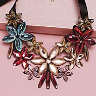 Women's Color Rhinestone Necklace