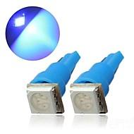 2 x T5 0.2W Dashboard Gauge 5050SMD LED Mini-Wedge Bulb