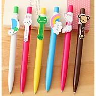 Cartoon Animal Rainbow Wings Ballpoint Pen