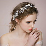 Women Pearl/Rhinestone/Alloy Headbands With Wedding/Party Headpiece More Colors
