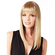 High Quality Capless Long Straight Mono Top Human Hair Wigs 7 Colors to Choose