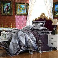 yuxin®tencel stof modale satijn jacquard beddengoed bruidssuite 4 stuk 1.5m-1.8m / 2.0m bed beddengoed set