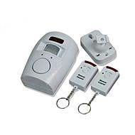 ir alarme detector sensor de movimento alertor para armazém loja de casa escritório branco