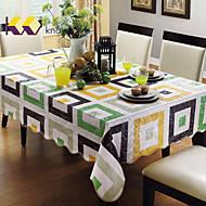 linge de table knowll protection de l'environnement insipide nappes imperméable hôtel nappes linge de table en pvc