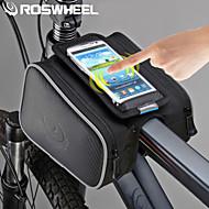 Bag quadro da bicicleta ( Como na Foto , PVC/Póliester 600D , 1.8 L)  Multifuncional Ciclismo