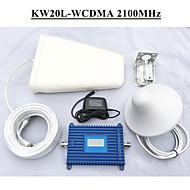 3G mobiele telefoon booster zet 70dbi winst signaalversterker WCDMA 2100MHz mobiele telefoon signaal versterker met LCD-display