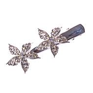 Dame/Blomsterpige Legering Headpiece Bryllup/Spesiell Leilighet/Avslappet/Kontor & Karriere/Utendørs BaretteBryllup/Spesiell